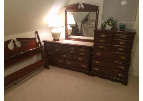 Solid Cherry Bedroom Set